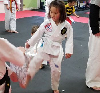 4Kicks Family Taekwondo kids karate